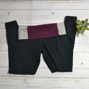 Victoria's Secret Pink Crop Cotton Yoga Pants